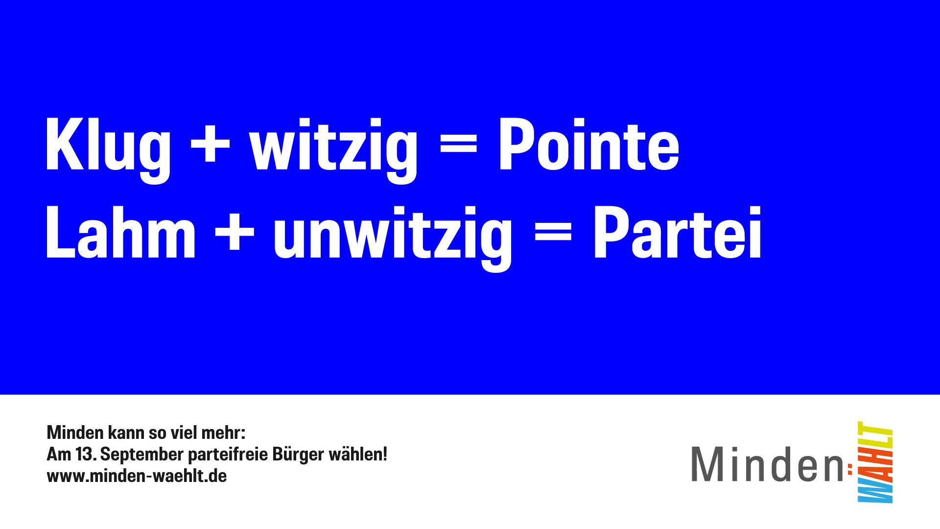 Motiv Pointe vs. Partei