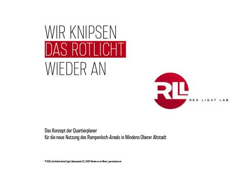 Titelblatt Konzept Red Light Lab