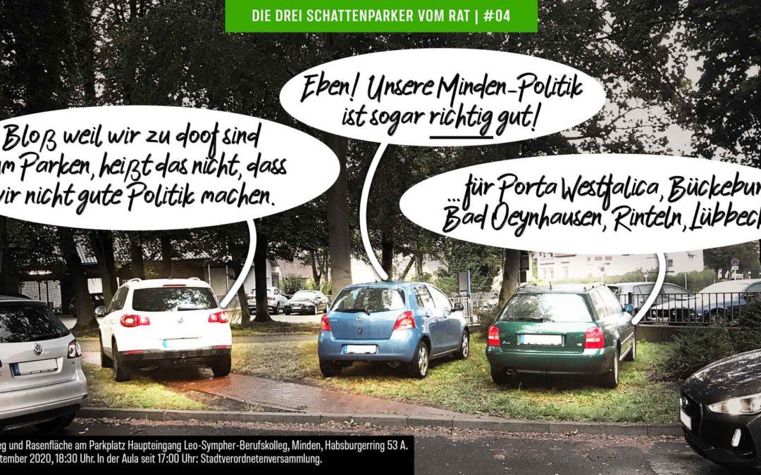 """Plötzlich Serie! """"Die drei Schattenparker vom Rat"""" mit weiteren Motiven"""