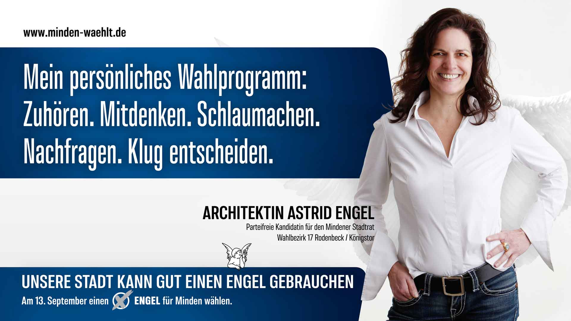 Astrid Engels persönliches Wahlprogramm